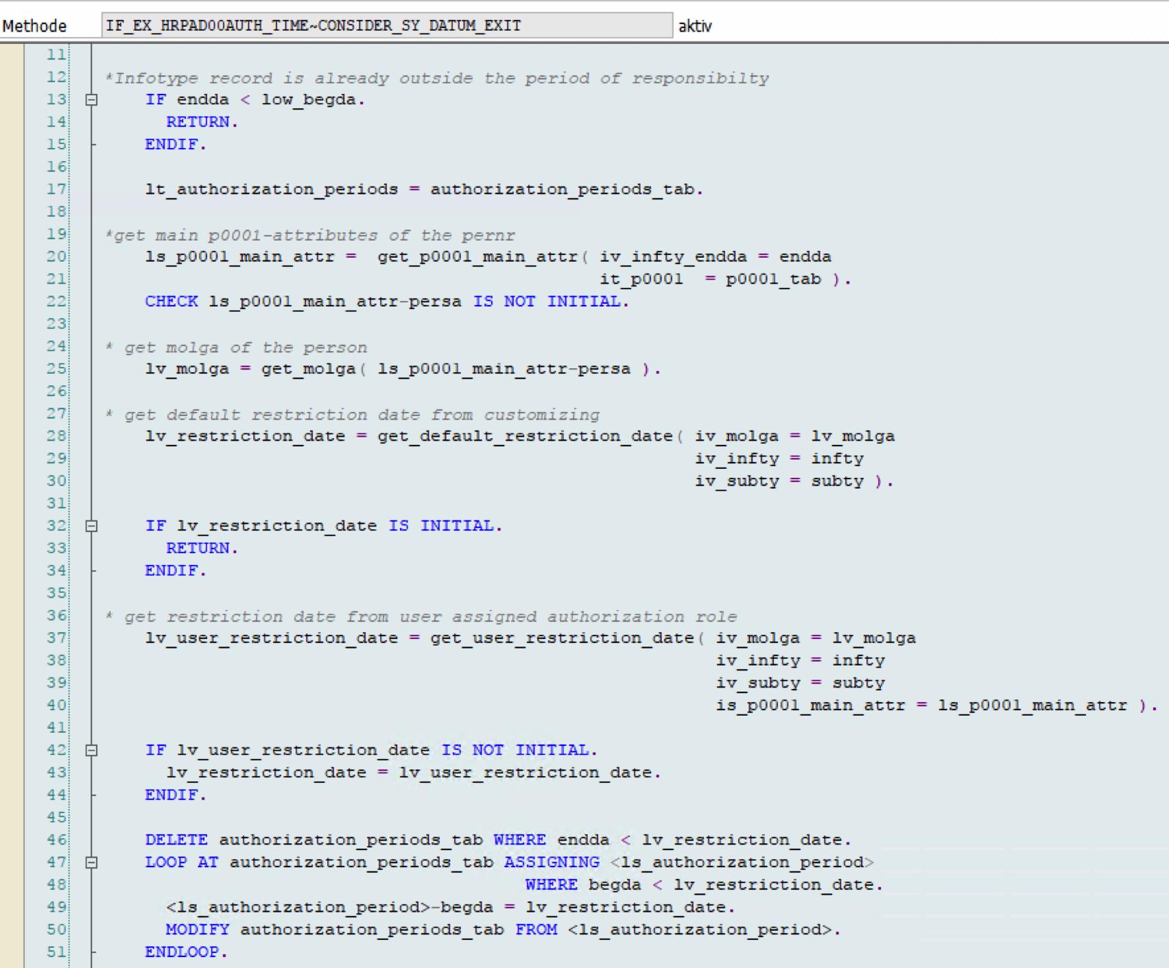 Beispielcoding